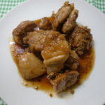 鶏の甘しょうゆ煮