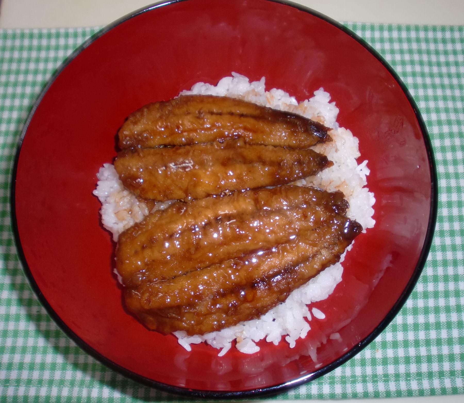 【減塩レシピ】イワシのかば焼き丼